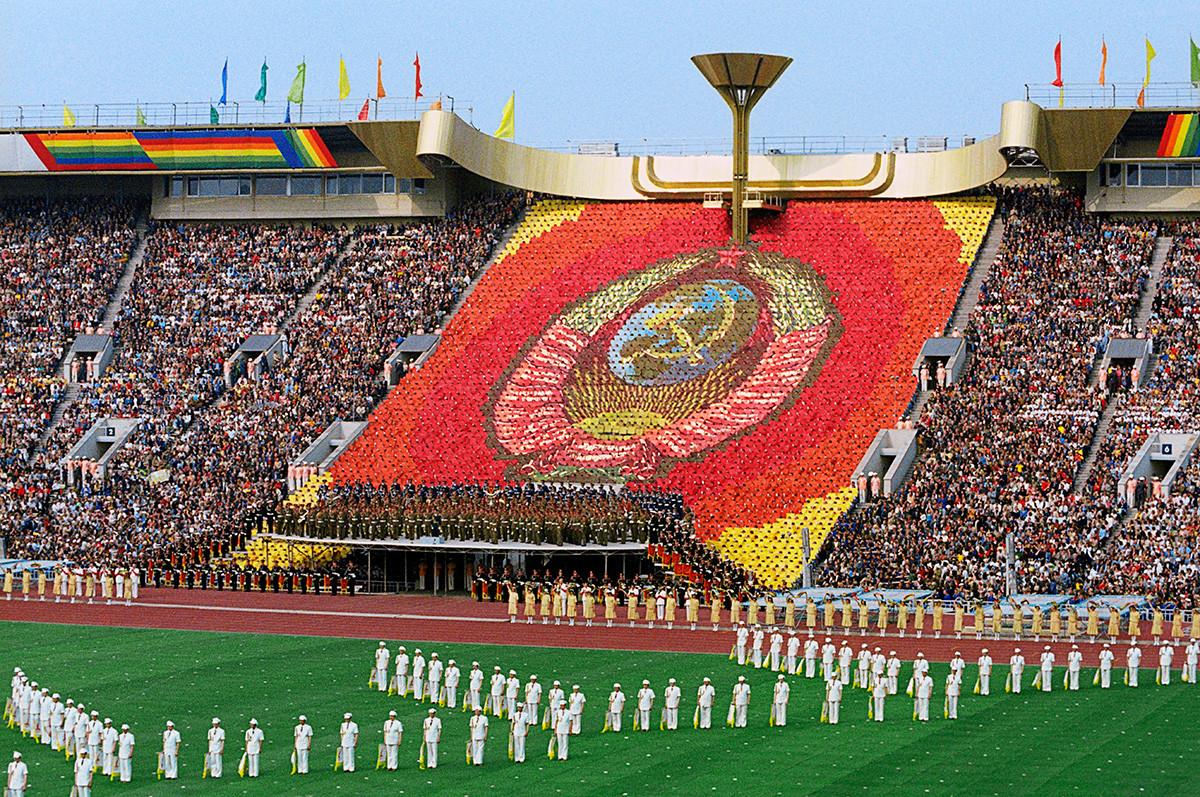 1980年モスクワオリンピックの開催式