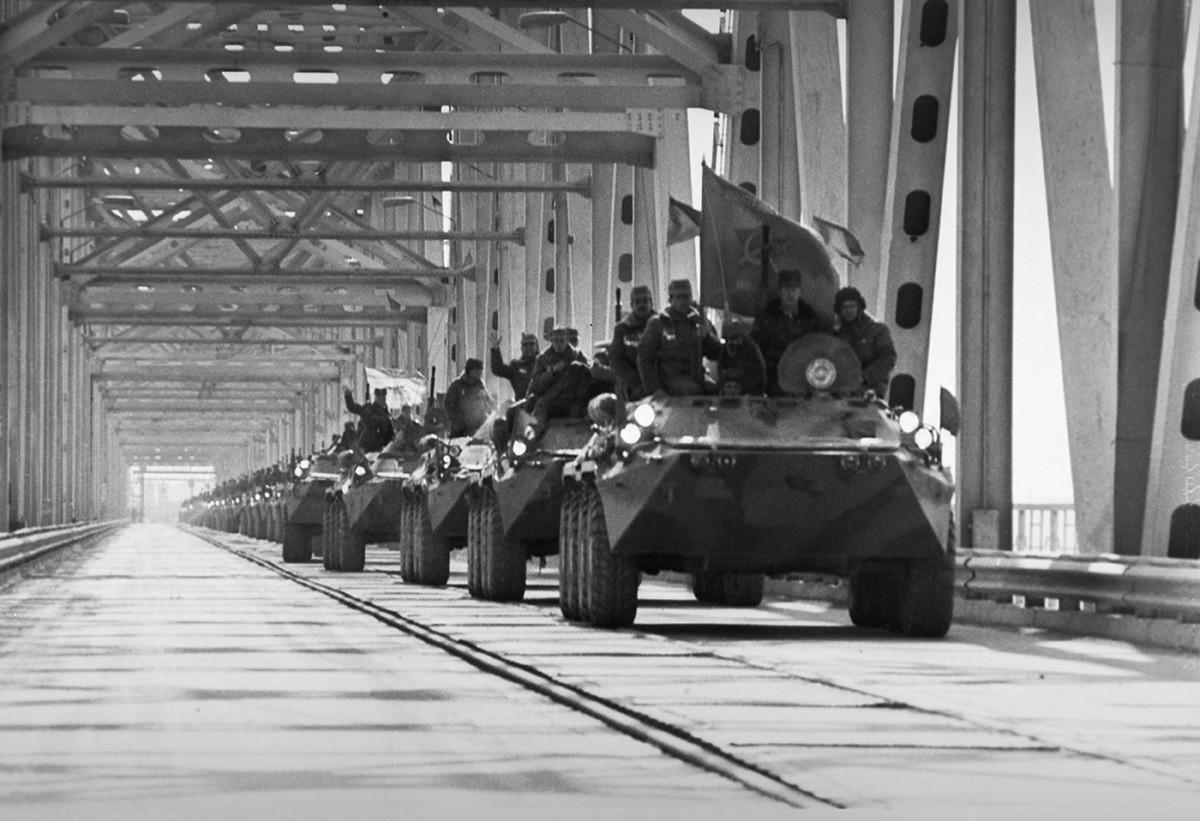 ソ連軍のアフガニスタンからの撤退