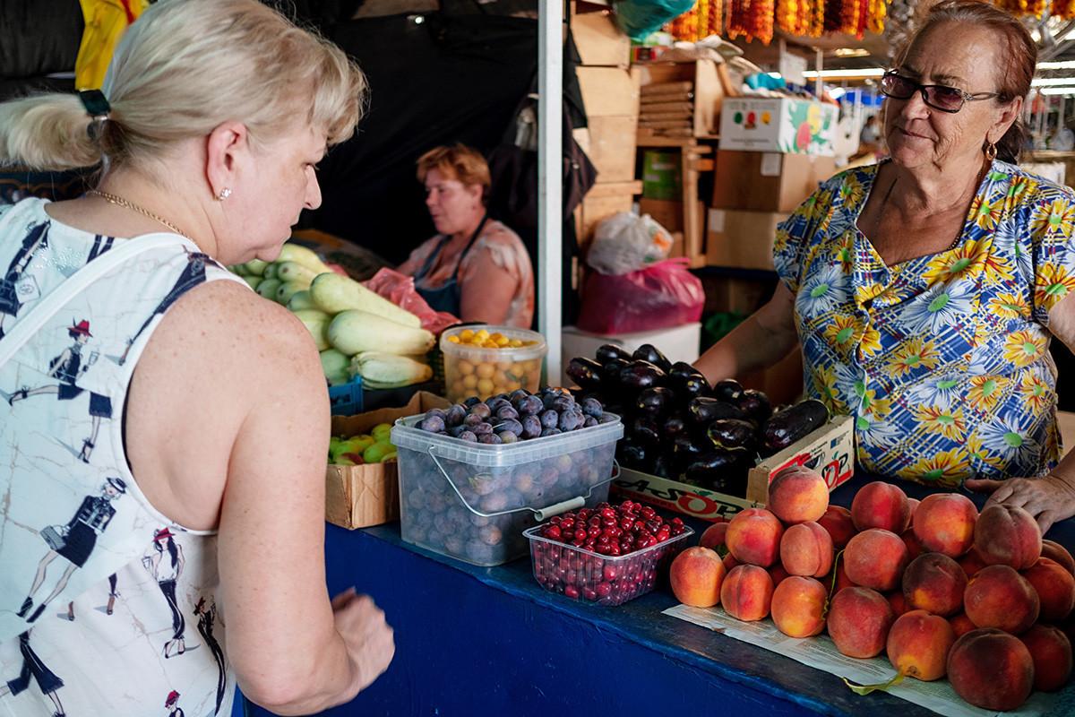 Централен пазар во Краснодар, Русија