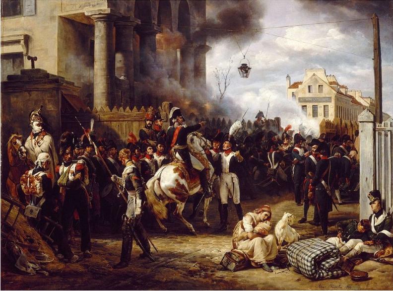 Obramba Pariza, 28. marca 1814