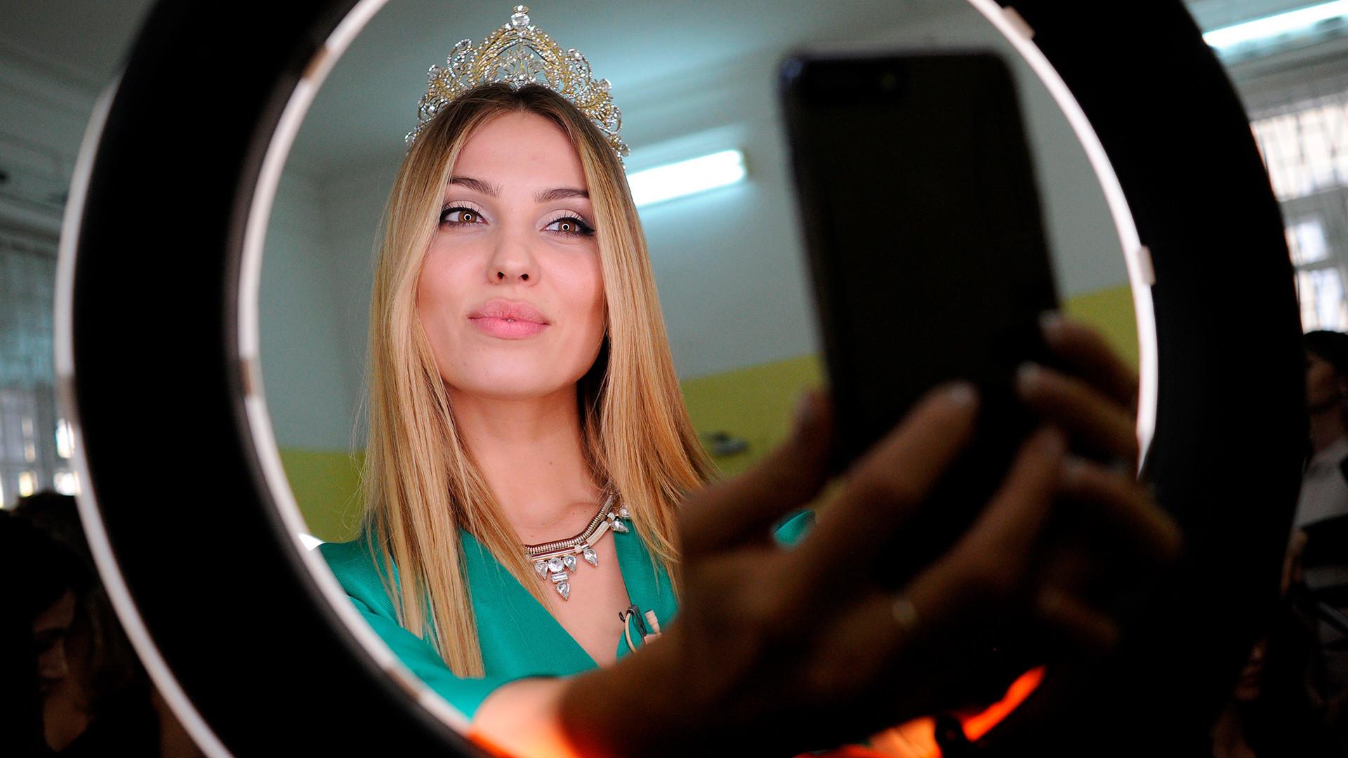 Участница фестиваля талантов и красоты «Мисс Москва»