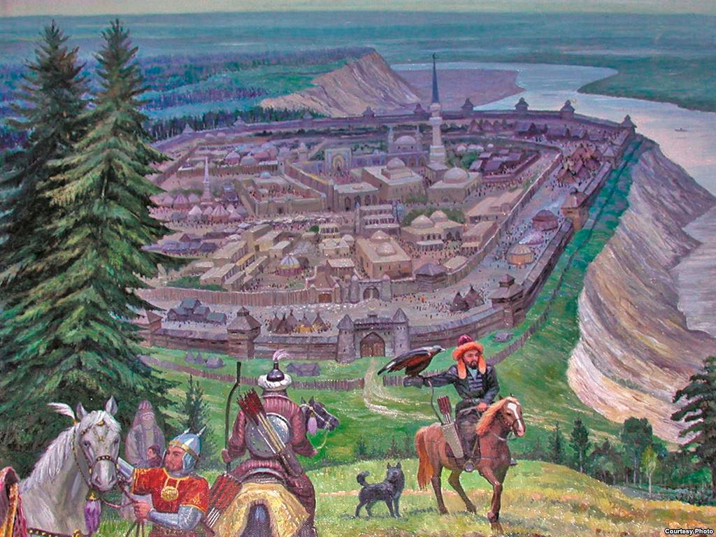 Kachlik em seu auge