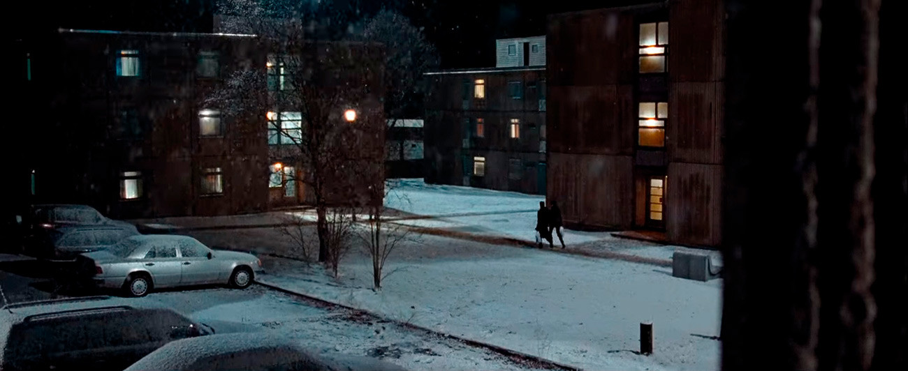 Although covered in snow for Quantum of Solace, Albershot military barracks did not look like Kazan to many Russians.