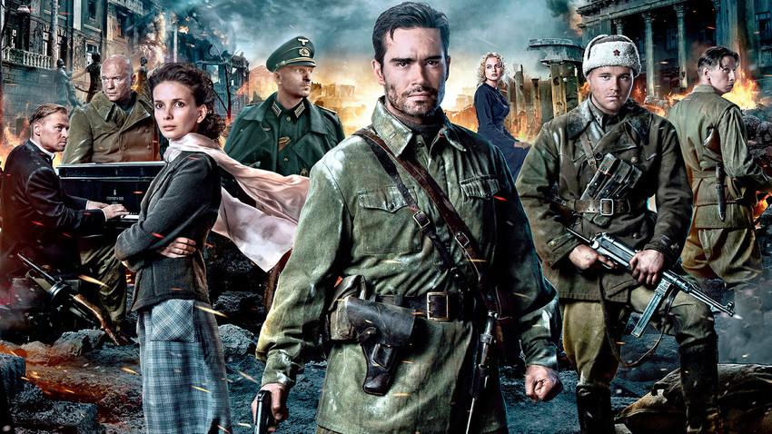 A poster for 'Stalingrad'