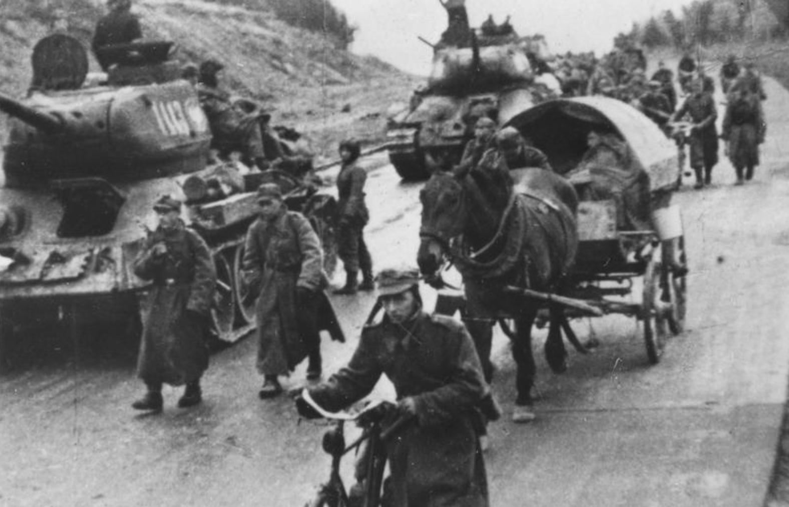Пољска армија на путу у Берлин, 1945.