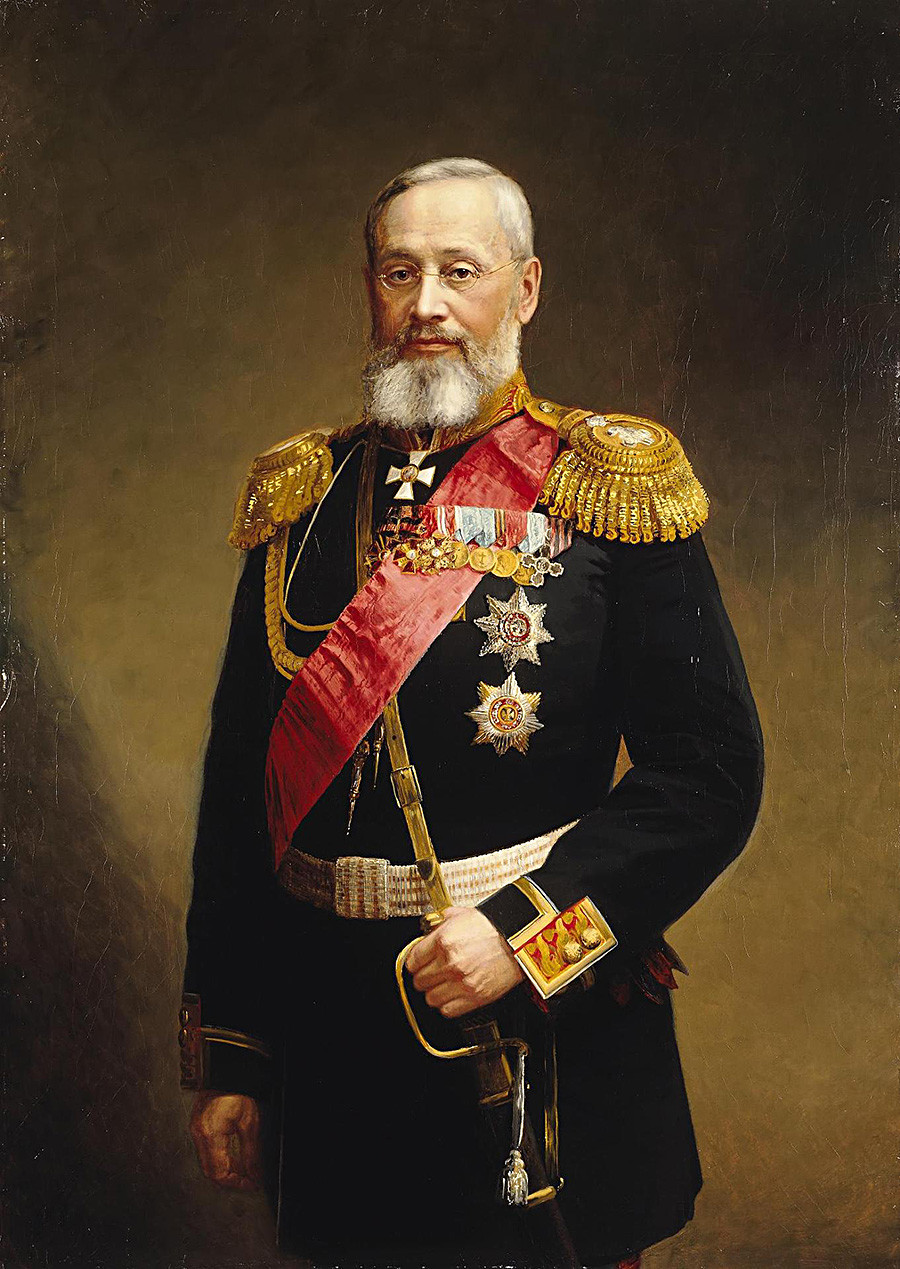 Portrait de Piotr Vannovski par Aleksandr Perchakov