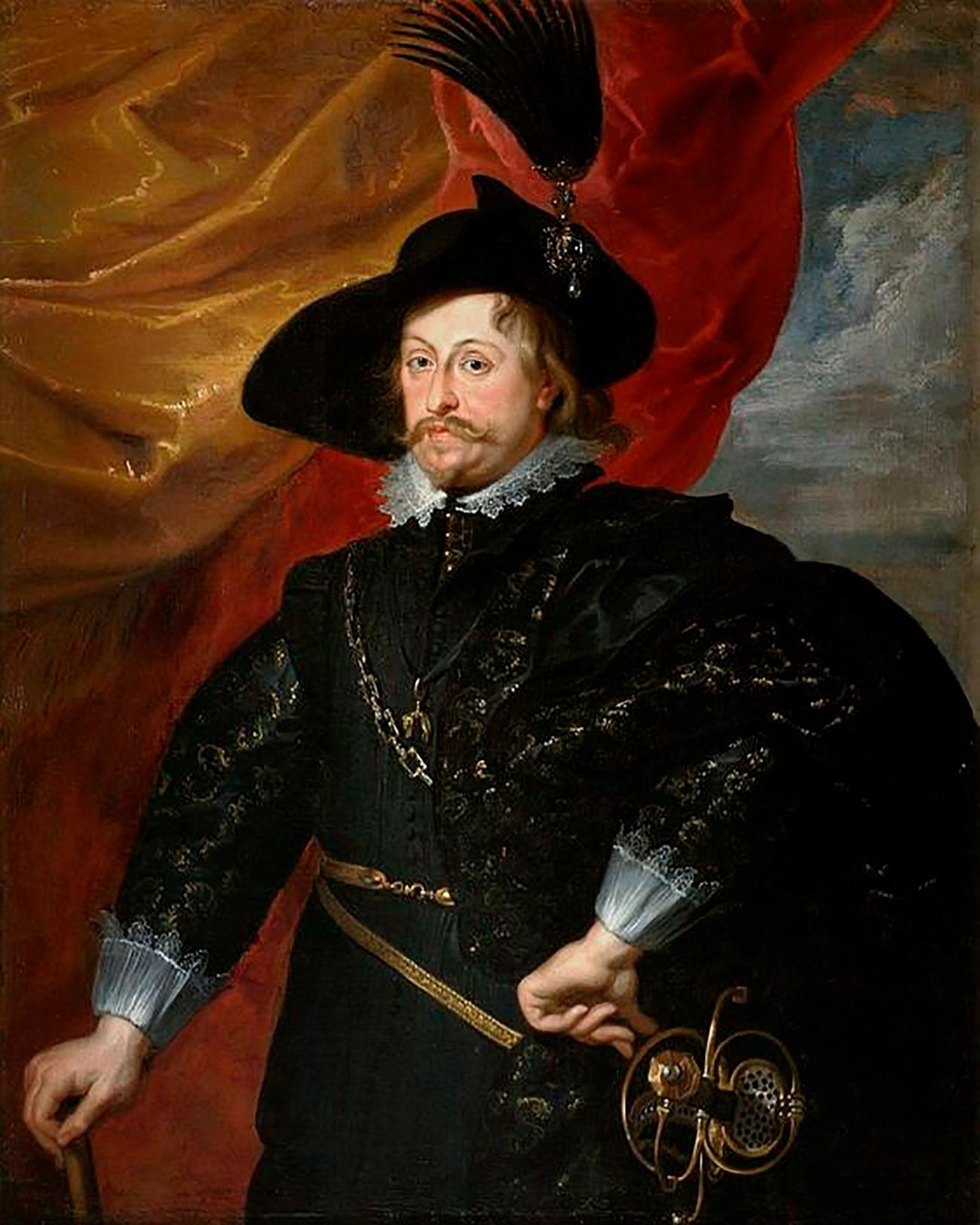 Питер Пауль Рубенс. Портрет Владислава Вазы, 1624 г.