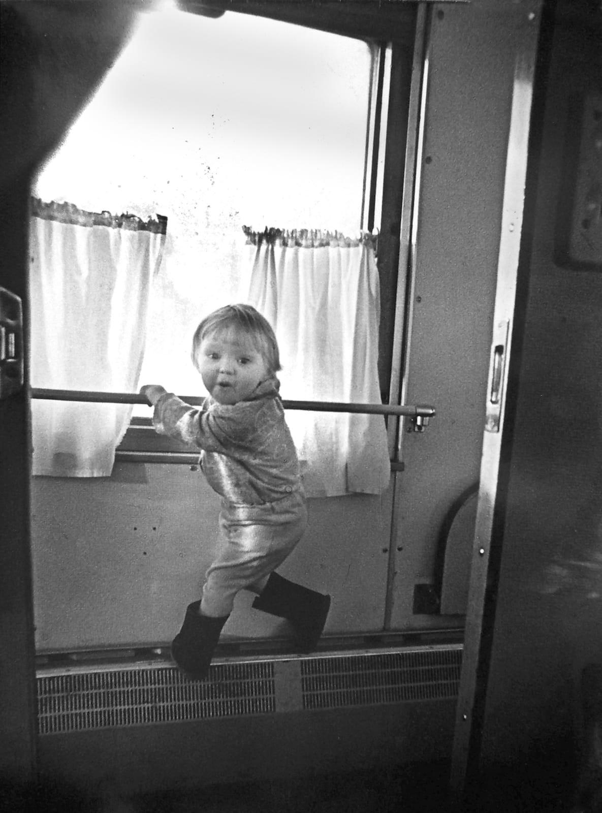 Zum Vater, nach Saratow (Zug Moskau-Saratow, 1979)