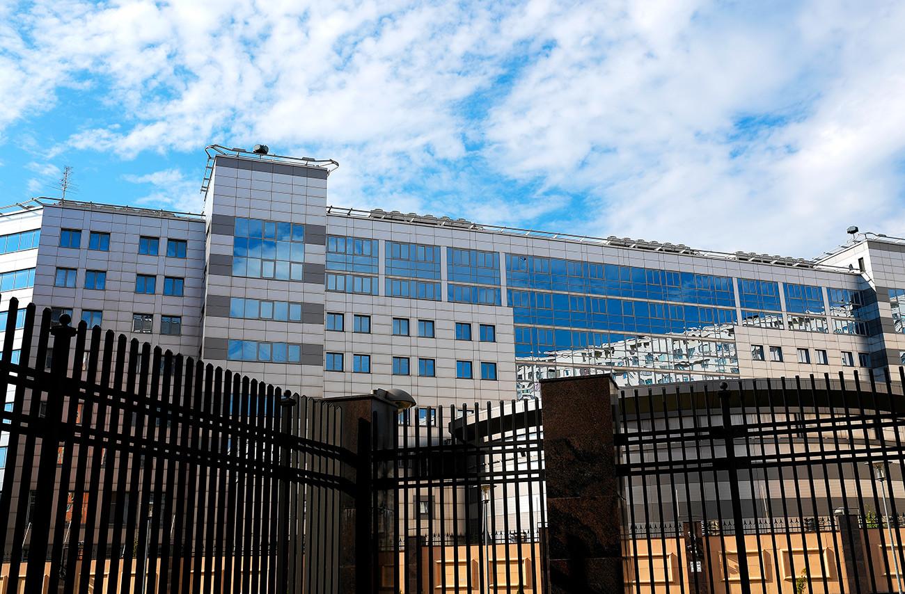 Pravo sjedište Glavne uprave Glavnog stožera Oružanih snaga Ruske Federacije (GU), koja se u Domovini naziva kraticom dotadašnjeg naziva - GRU.