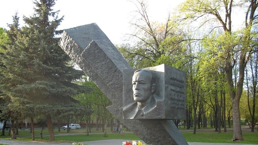 Паметник на генерал Карбишев в Москва