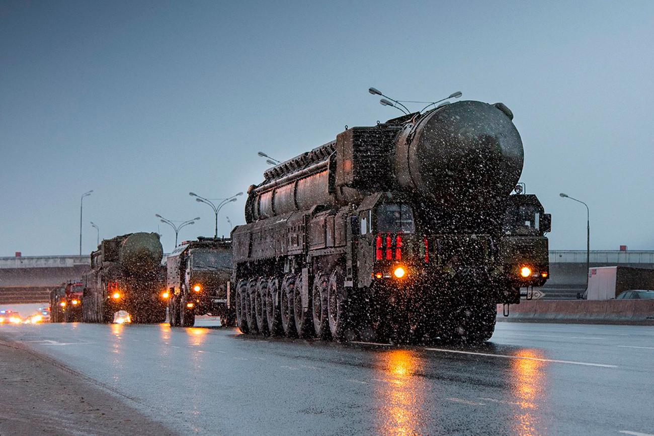 Mobilni lanser kopenskega raketnega sistema Jars