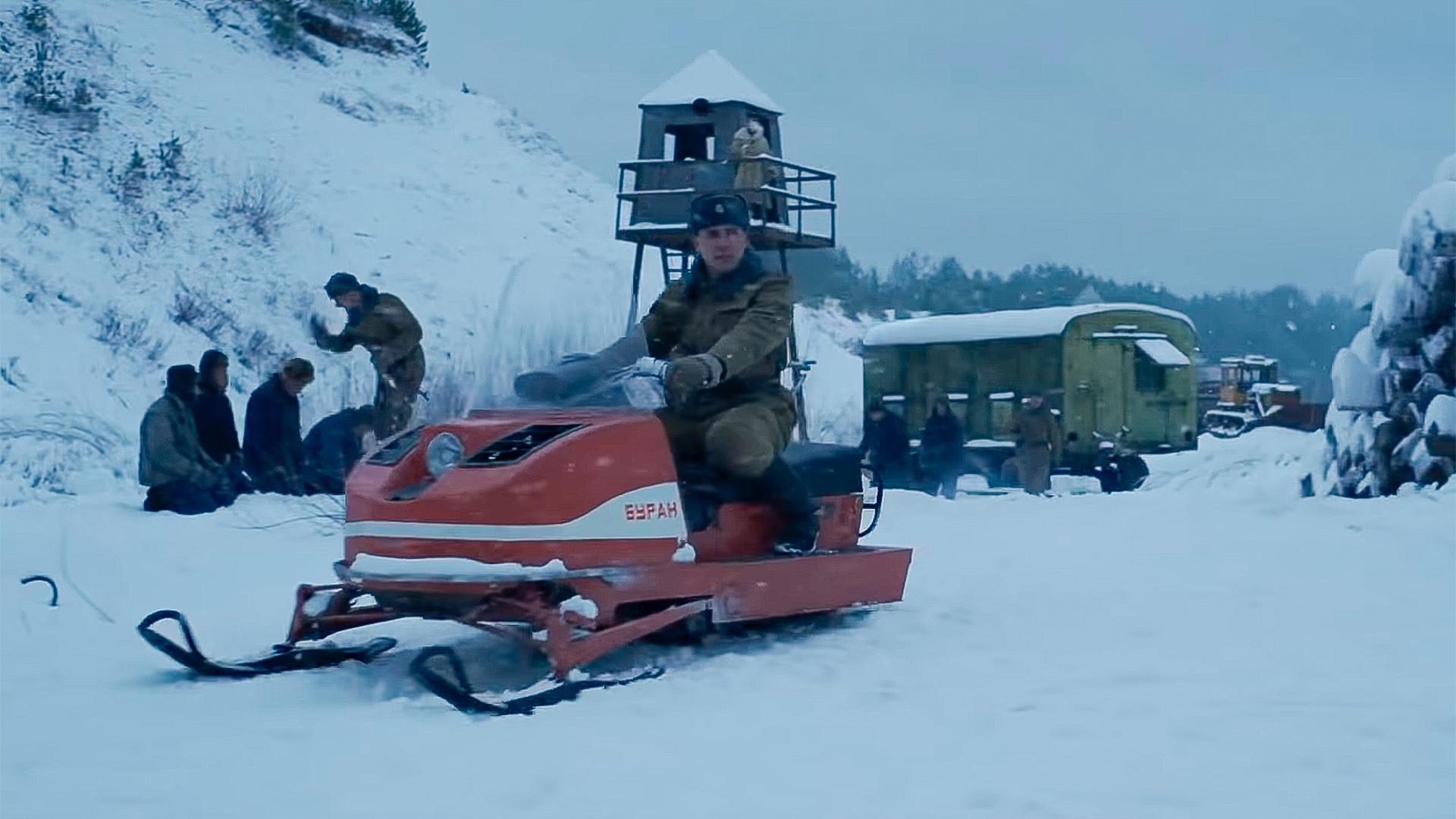 Uno de los errores es que las motos de nieve Buran empezaron a ser fabricadas en 1971