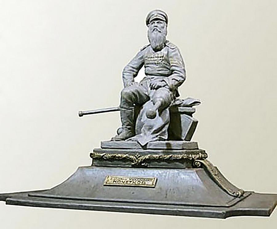 Один из проектов памятника Кочеткову в Ульяновске