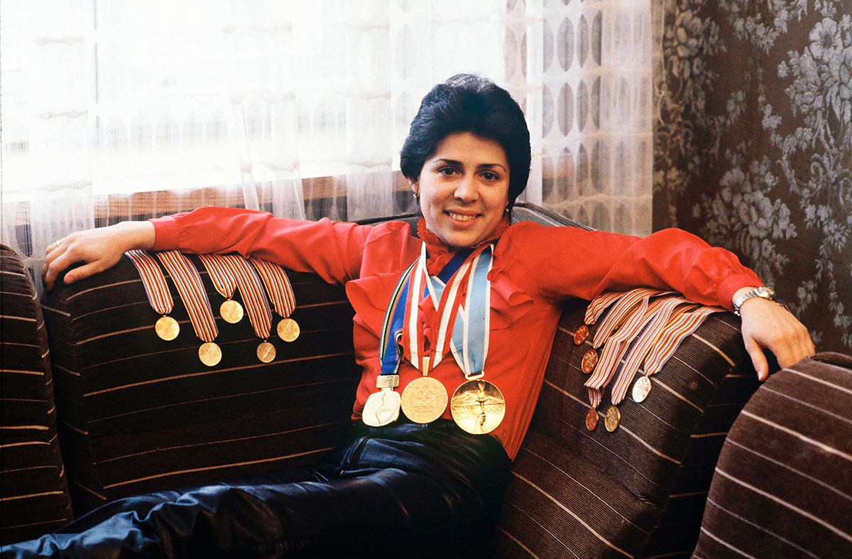 Irina Rodnina, 1984