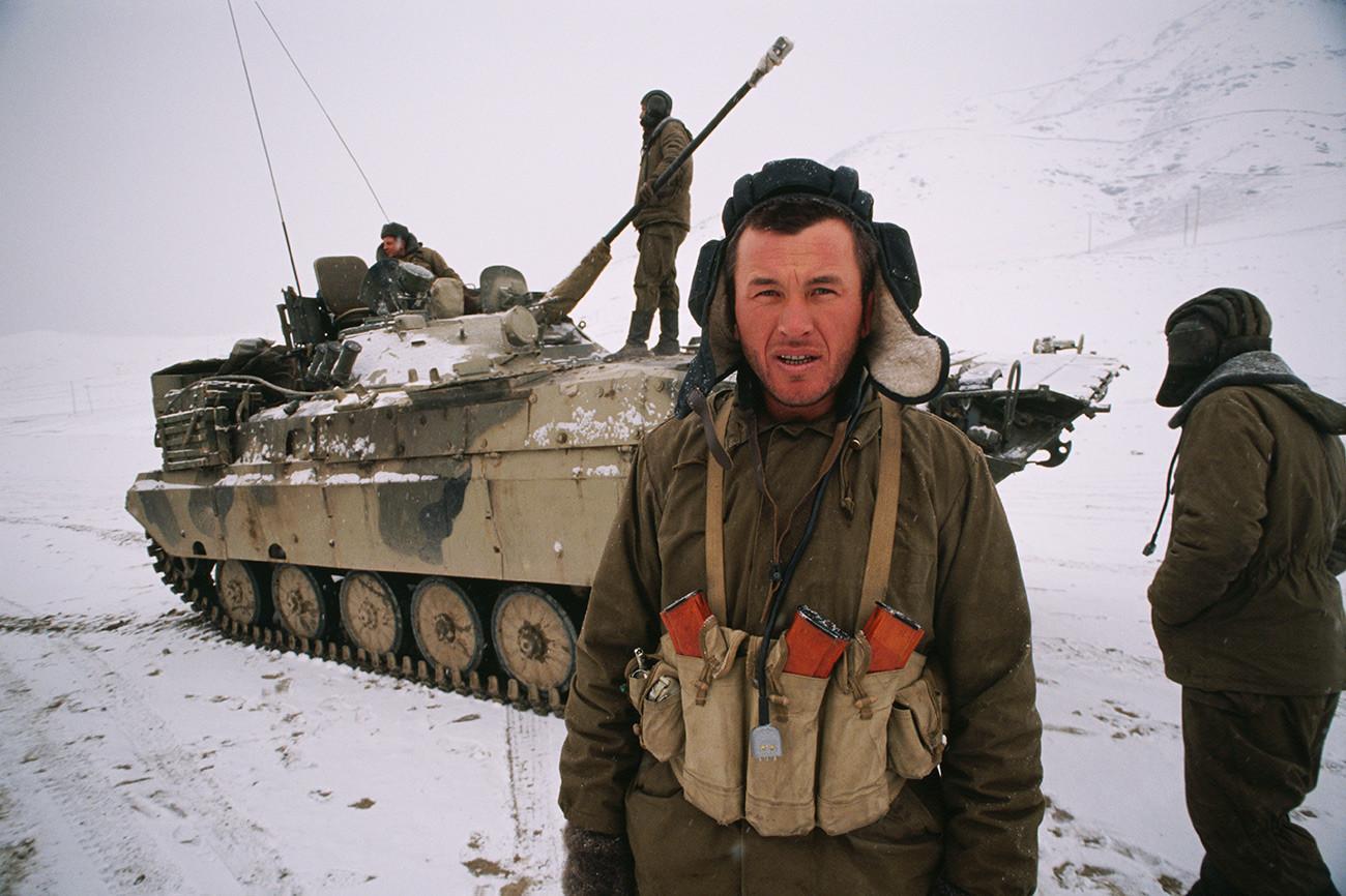 Советско-авганистанска војна.