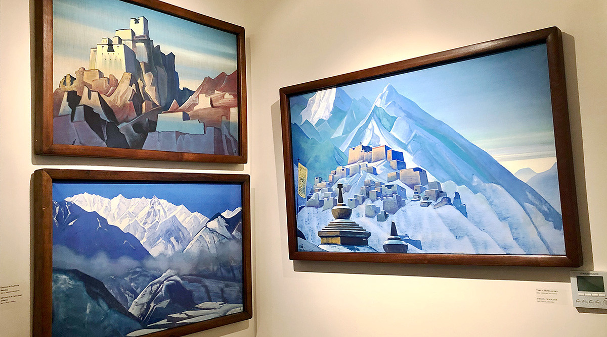 Drawings of the Himalayas