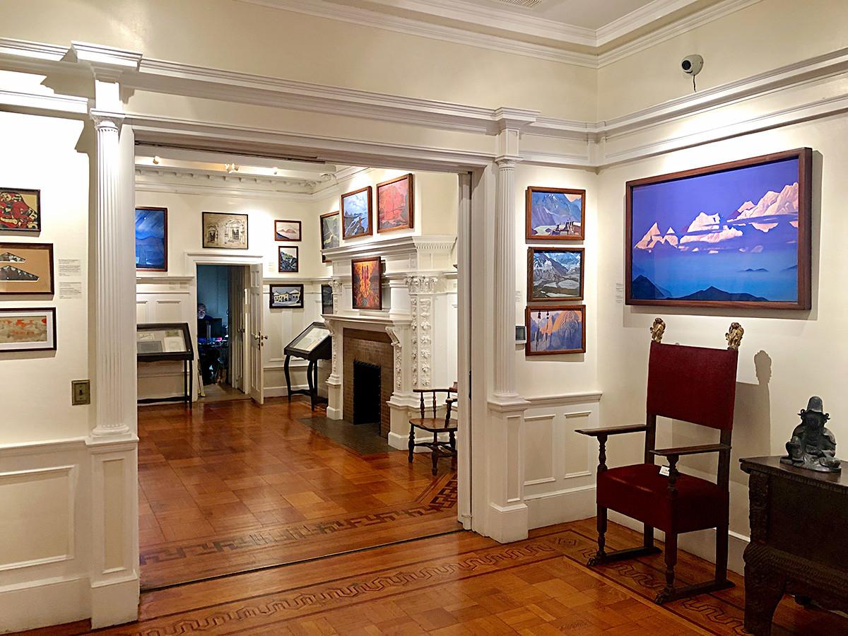 Interior of the museum