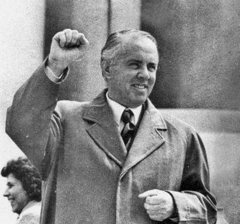 Enver Hoxha.