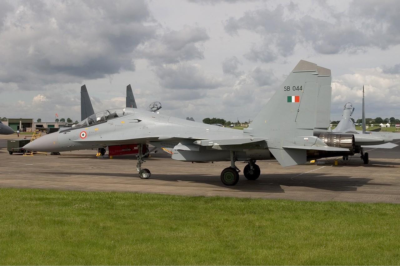 Su-30MKI indijskega vojnega letalstva