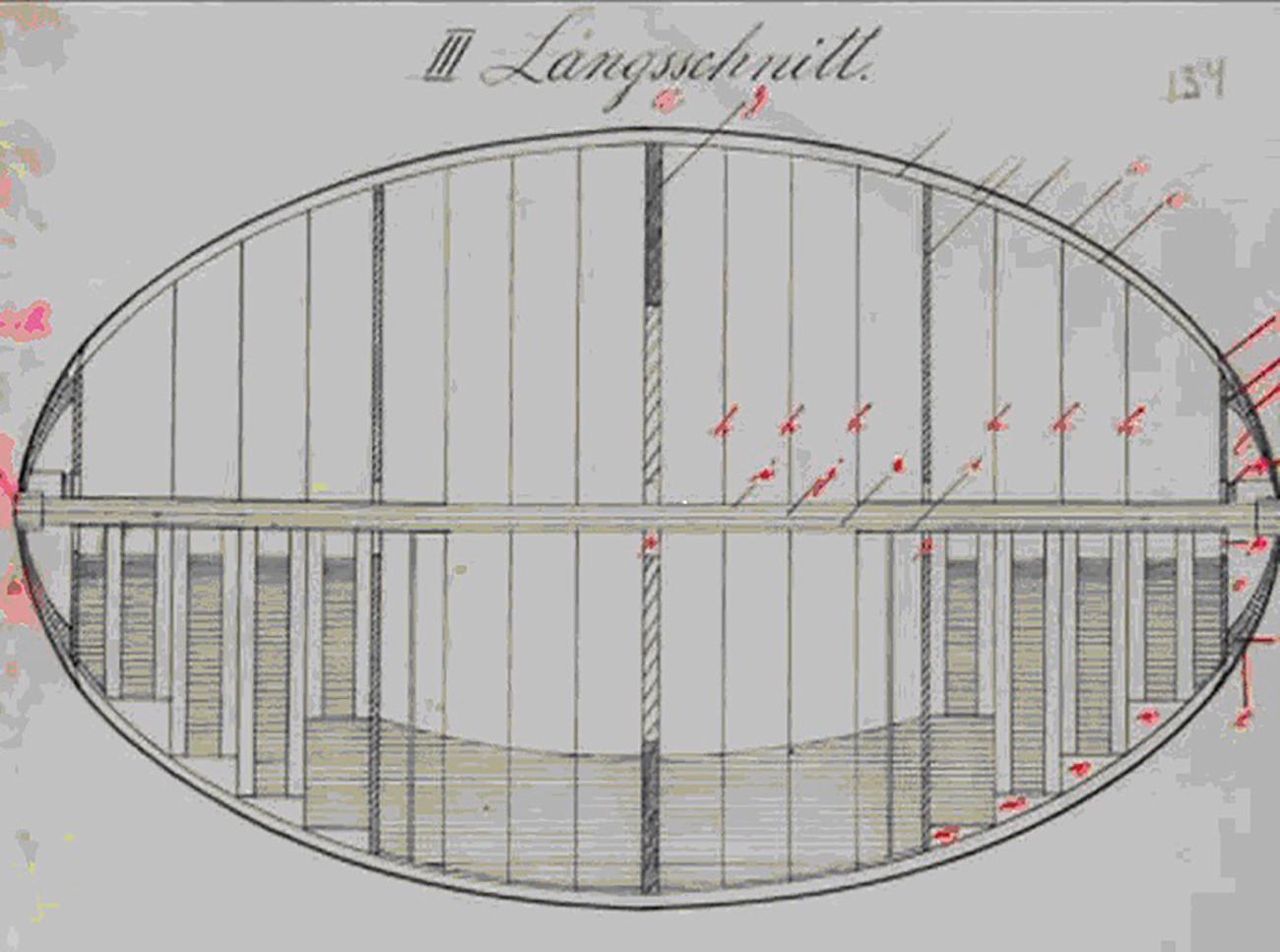 """Foi proposta a construção de uma gigantesca """"cidade"""" de metal em forma oval que rolaria e pulverizaria o inimigo."""
