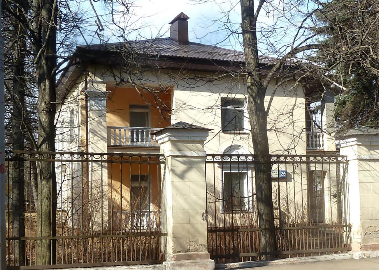 モスクワ市にあるヴァレリー・レガゾフの本当のアパート。