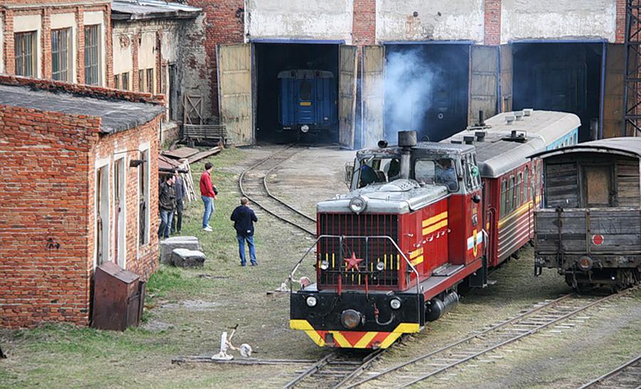 アラパエフスクにあるロシア最大の狭軌鉄道