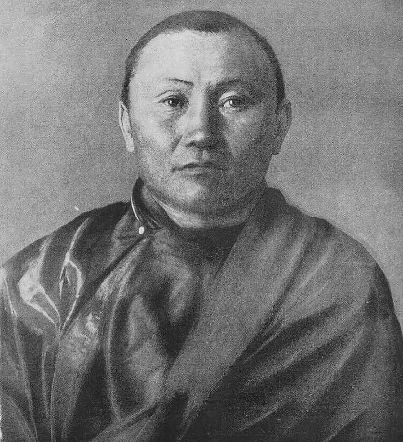Агван Доржијев, 1899.