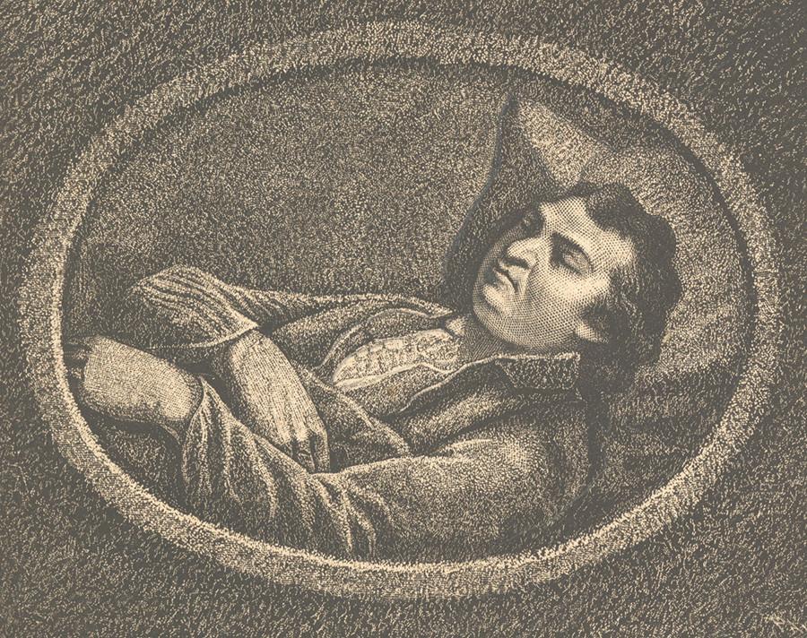 Potemkine sur son lit de mort