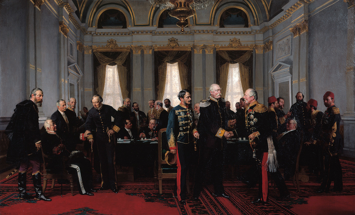 Anton von Werner. Congress of Berlin, 13 July 1878 (1881).