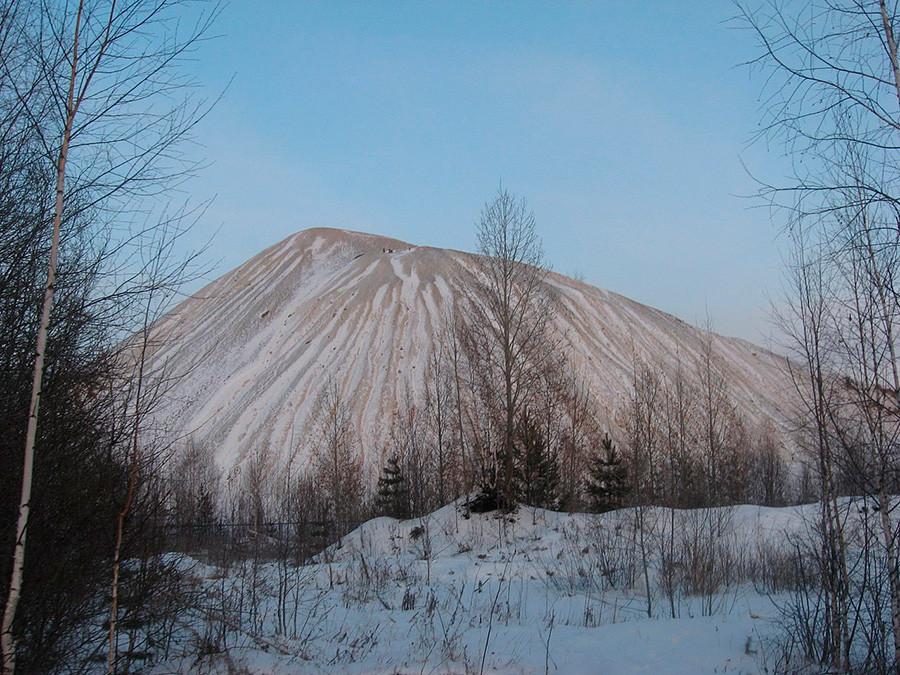Zimski rudarski hrib (terikon)