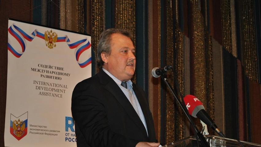 Руководилац Трговинског представништва Русије Андреј Хрипунов