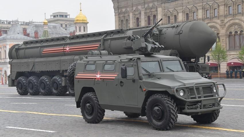 Смотра на воената техника на прославата на Денот на Победата, Црвен плоштад, Москва, 2019.