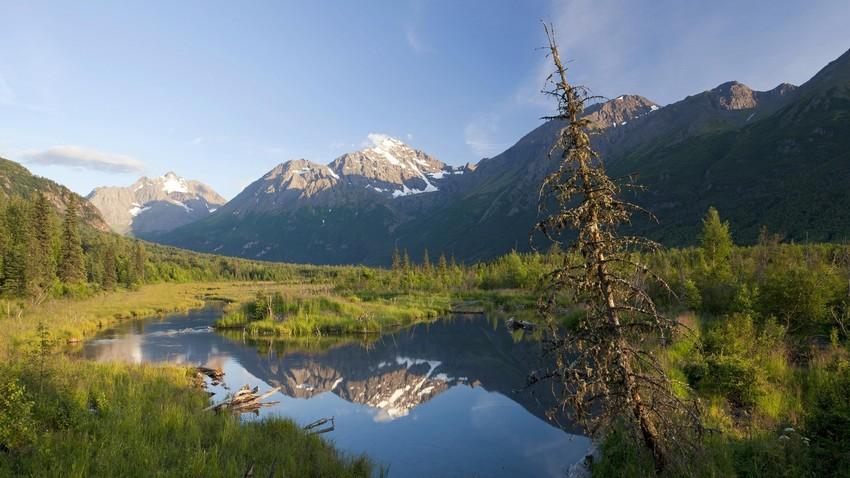 Em 1867, o território do Alasca foi comprado pelos Estados Unidos por 7,2 milhões de dólares.