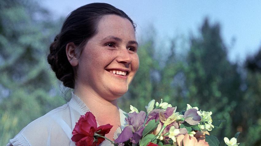 Esposa de Yuri Gagarin, Valentina Gagárina