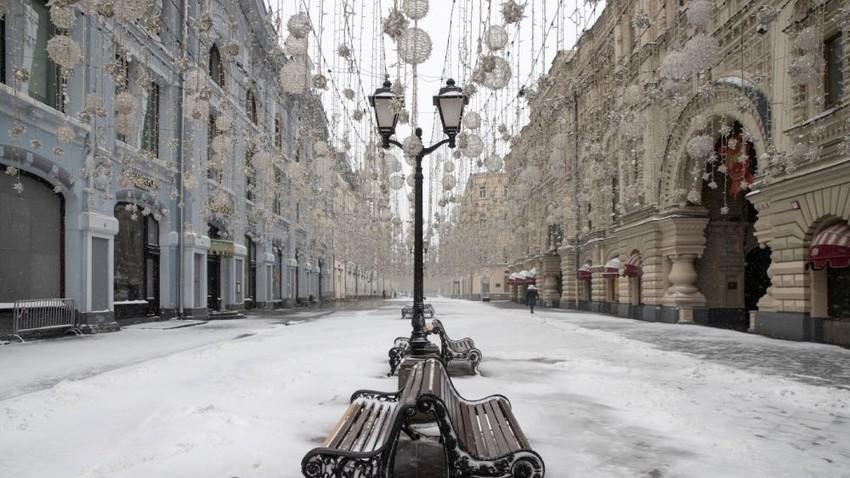 Mosca. 31 marzo