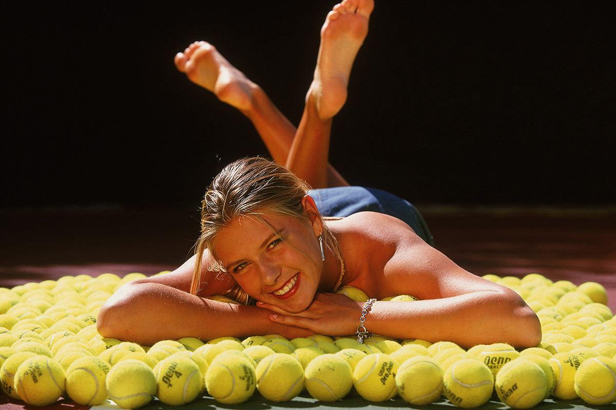 Sharapova di Indian Wells, California, AS.