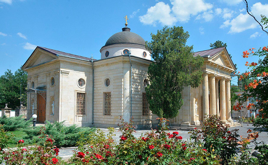 Saviour Cathedral of St.Catherine in Kherson, the burial site of Grigoriy Potemkin
