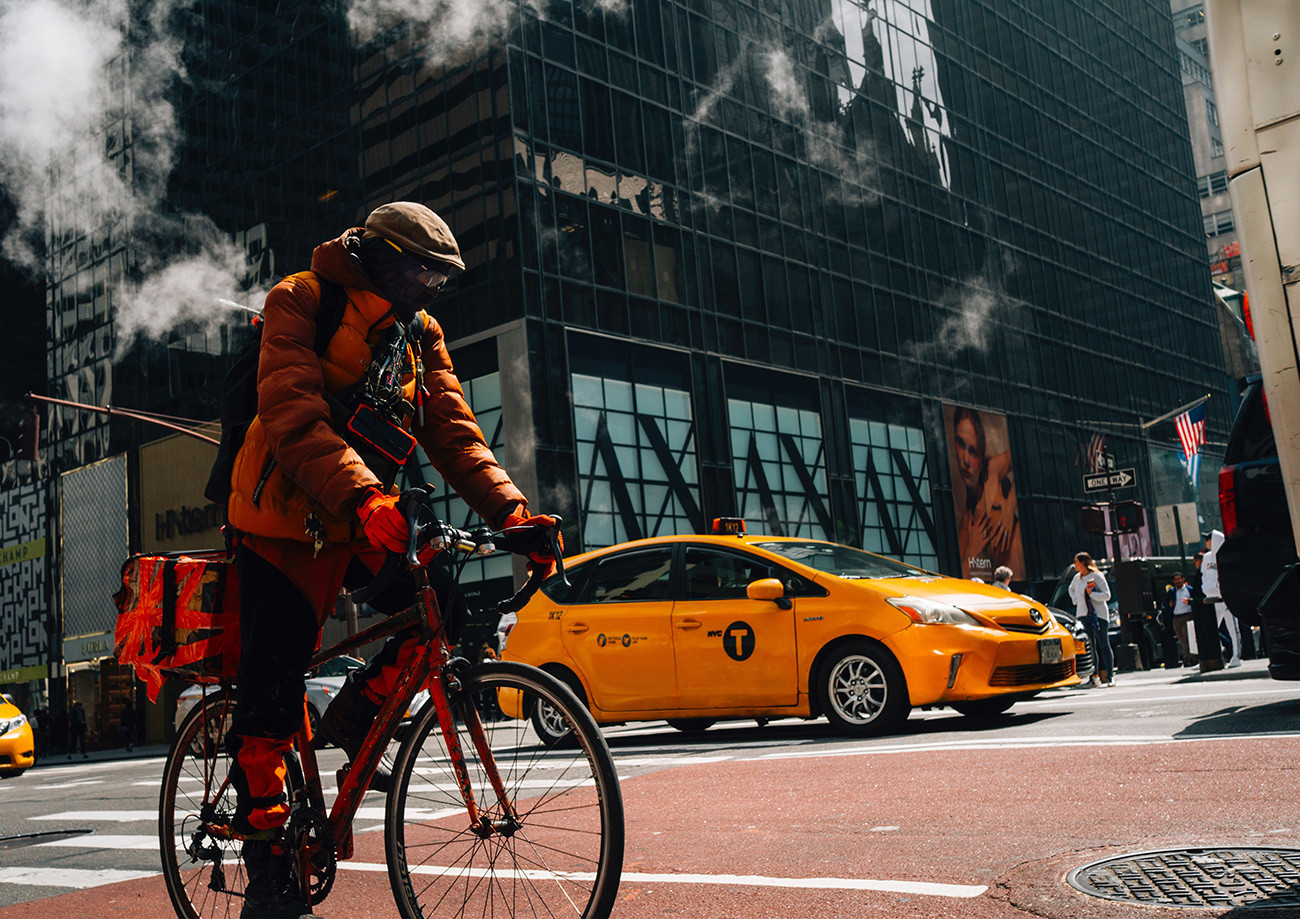 Everyday life in New York