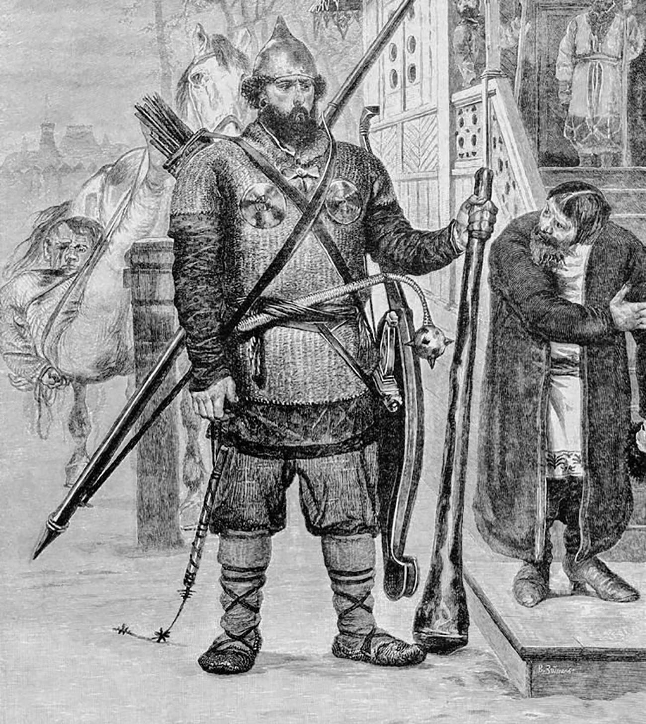 ロシアの騎士イリヤー・ムーロメツ