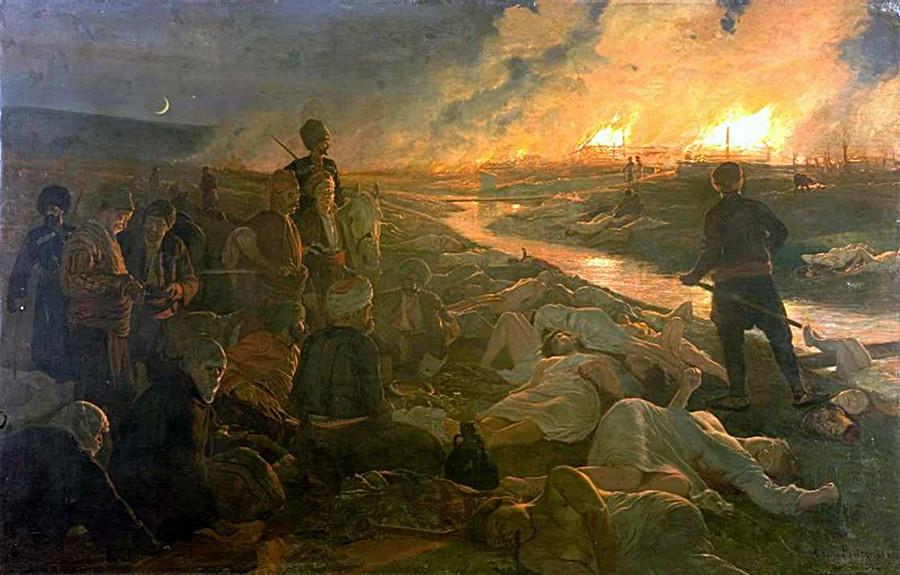 Piotrovsky. Masacre de Batak. 1889