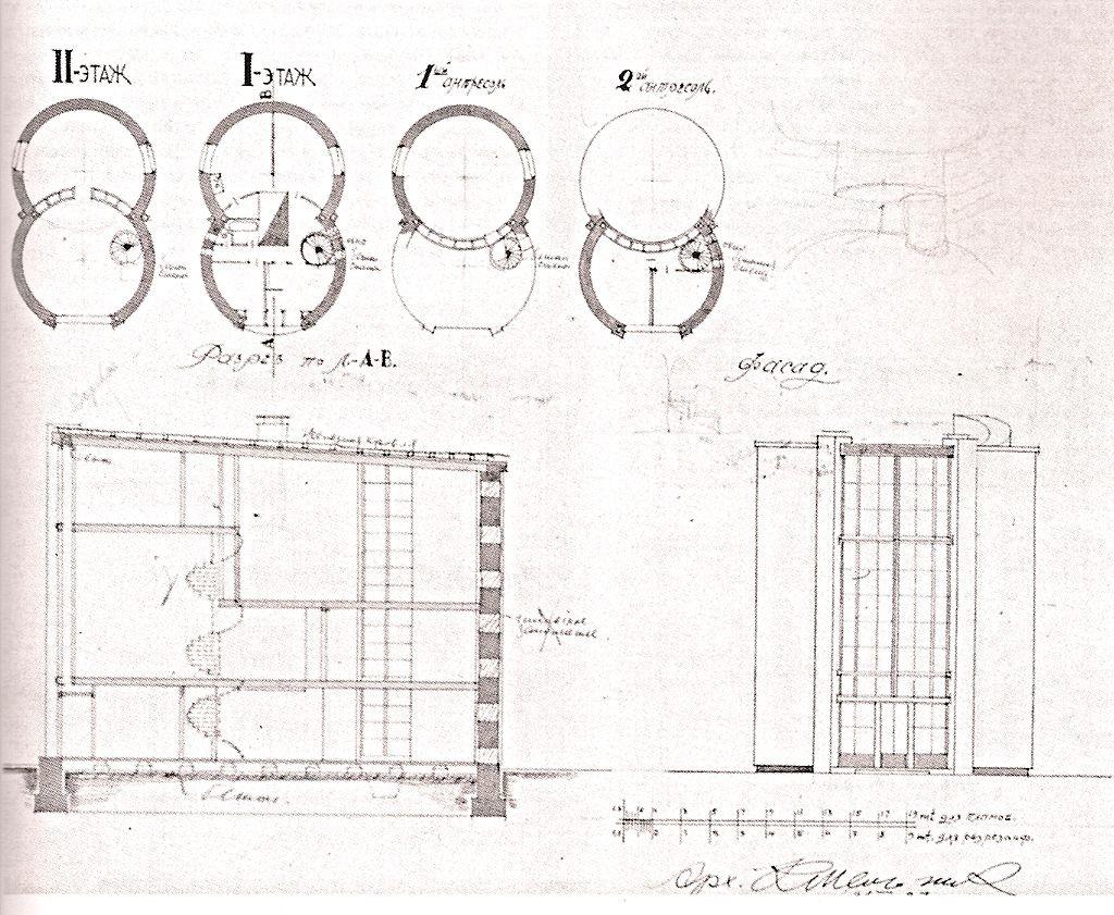 Projet de construction confirmé. Plans des étages et bâtiment à échelle.