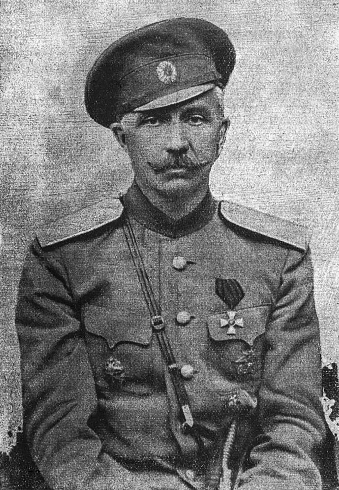 Pjotr Krasnov, generalmajor ruske carske vojske, ataman donskih kozakov, politik in publicist