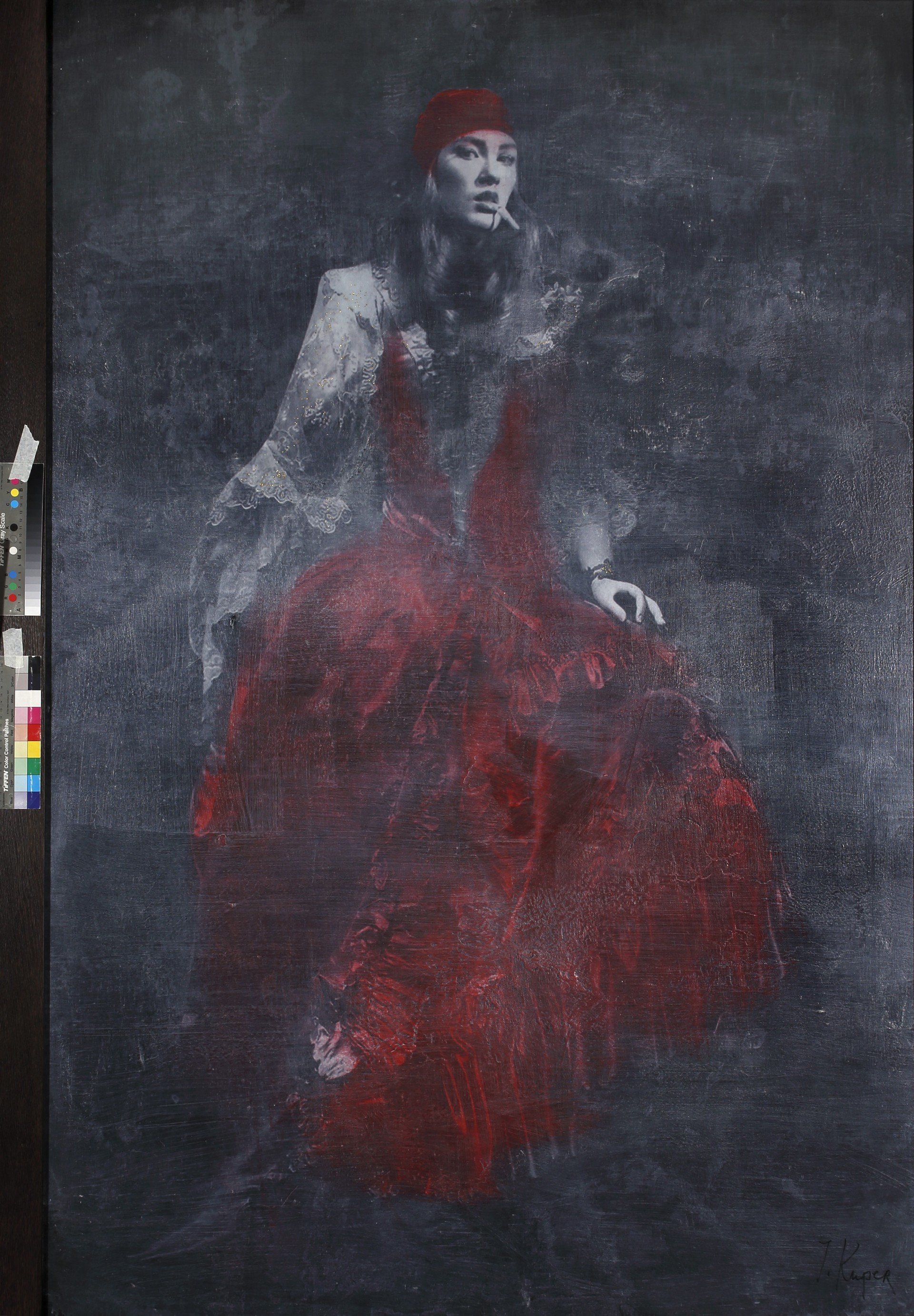 Carmen, 2008, tela, tecnica mista