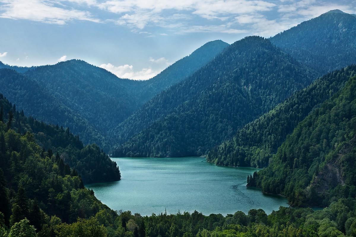 Jezero Rica.