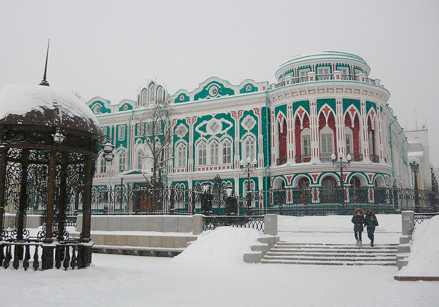Sewastjanow-Haus