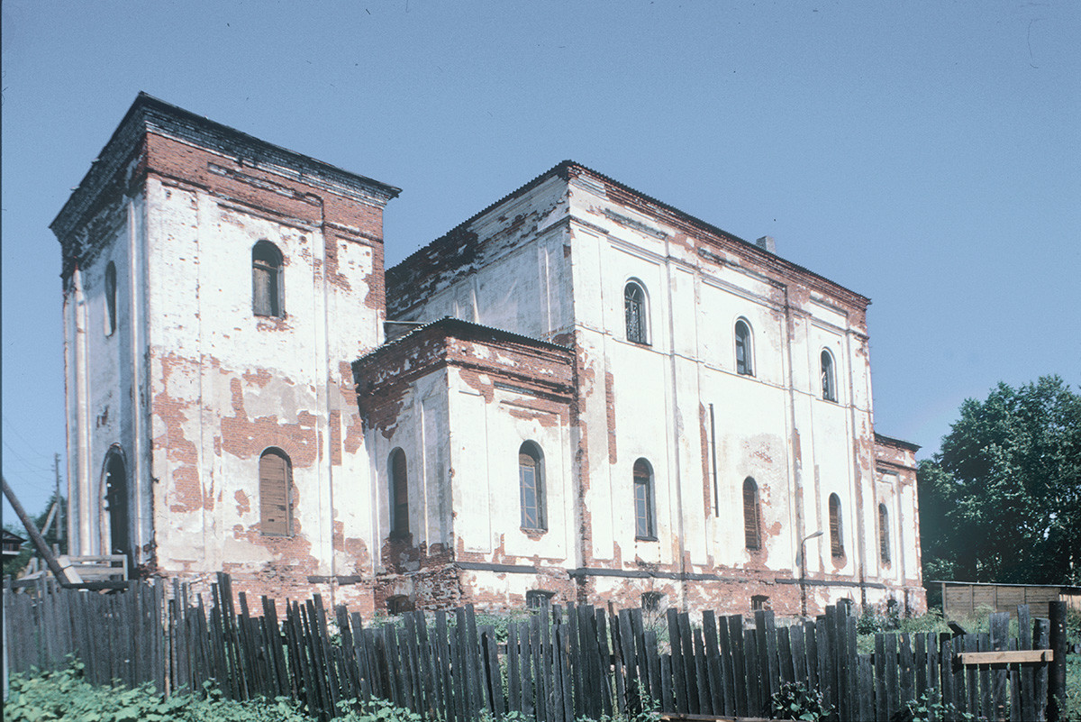 Katedrala Marijinega oznanjenja. 25. julij 2001