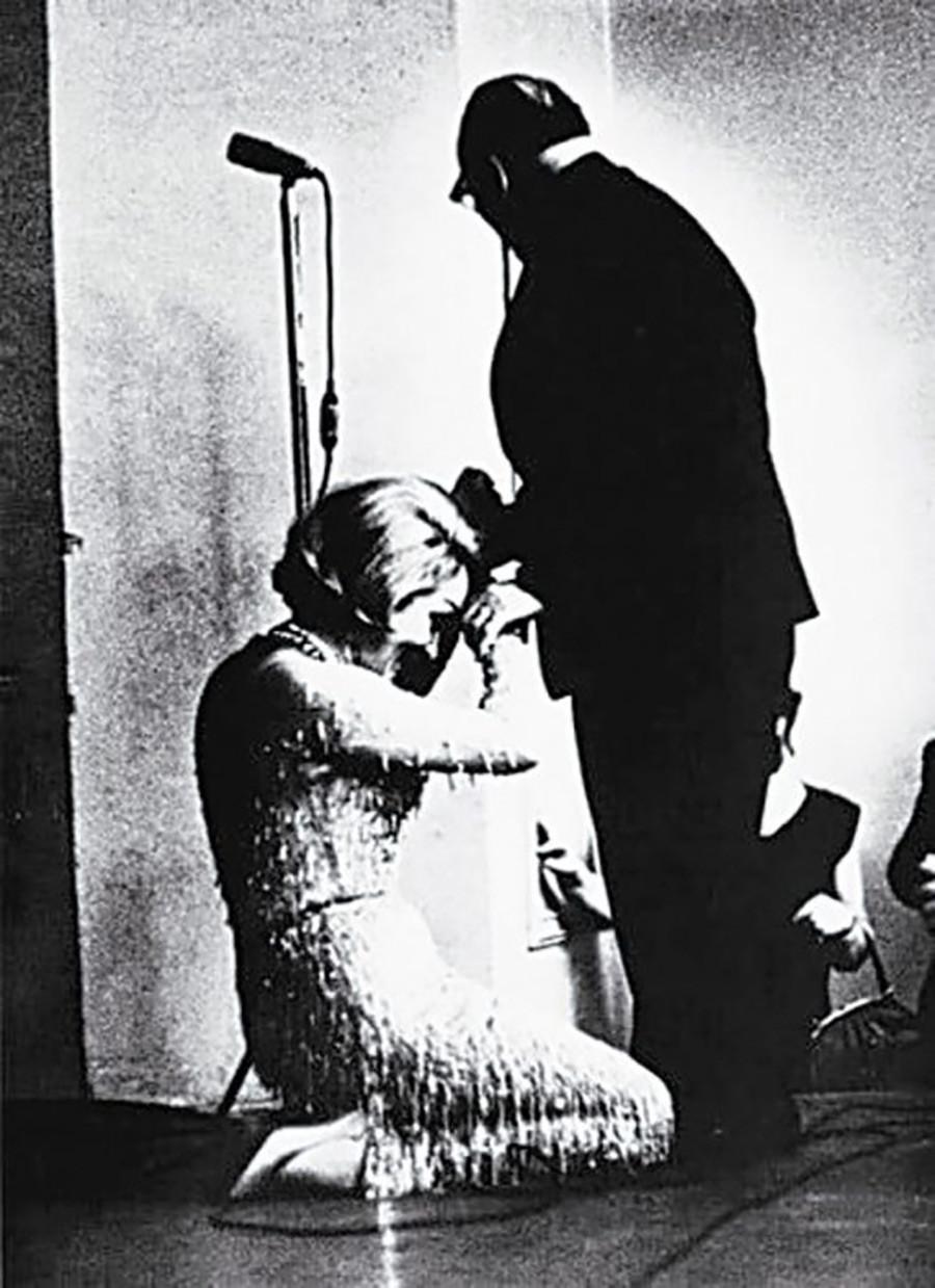 マレーネ・ディートリヒとコンスタンチン・パウストフスキー