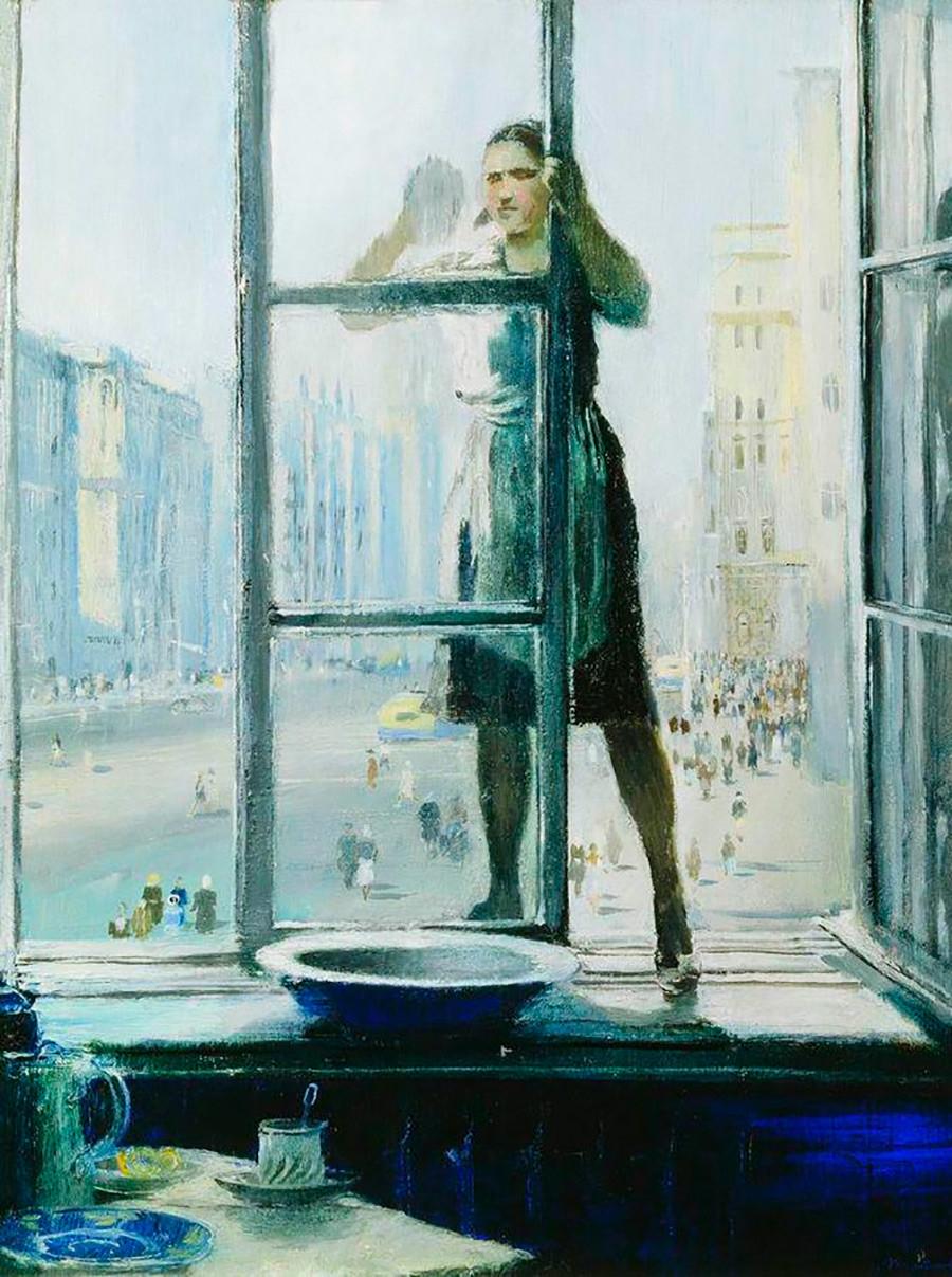Fenêtre au printemps, 1948