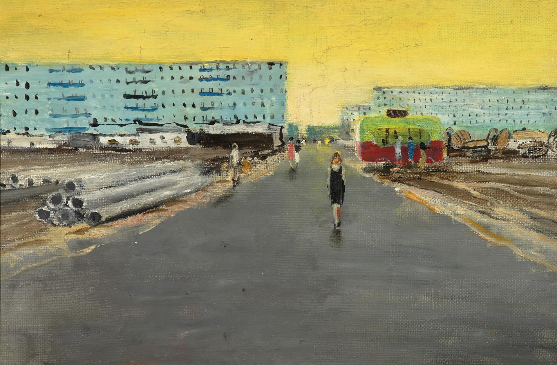 Matin dans la ville, 1964