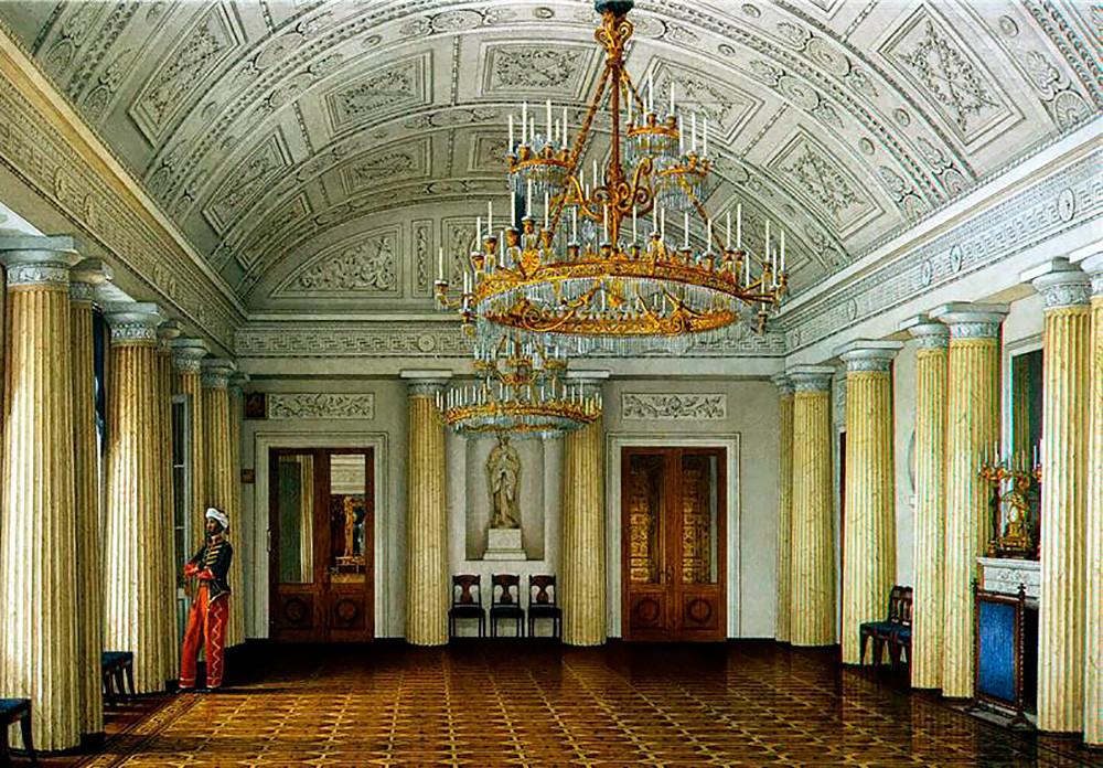"""""""Salão Mourisco, no Palácio de Inverno"""", de Konstantin Ukhtomski"""